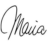 Maria - sign